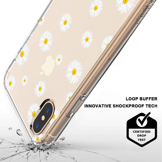 Daisy Floral Flower Phone Case - iPhone Xs Max Case
