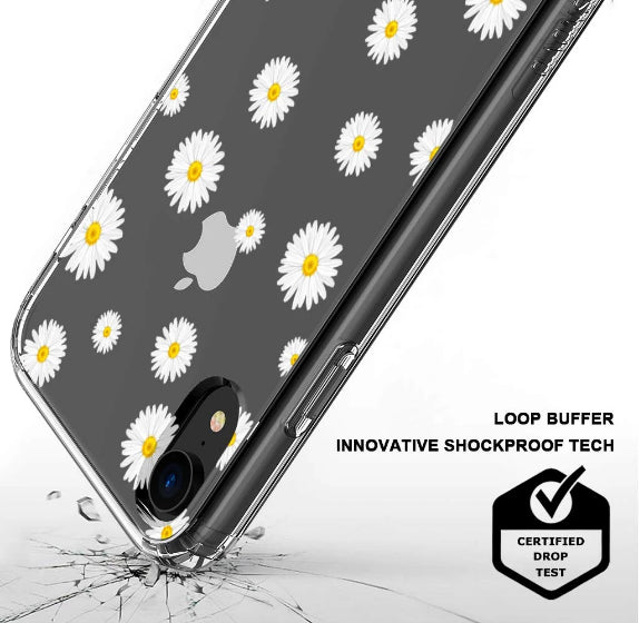 Daisy Floral Flower Phone Case - iPhone XR Case