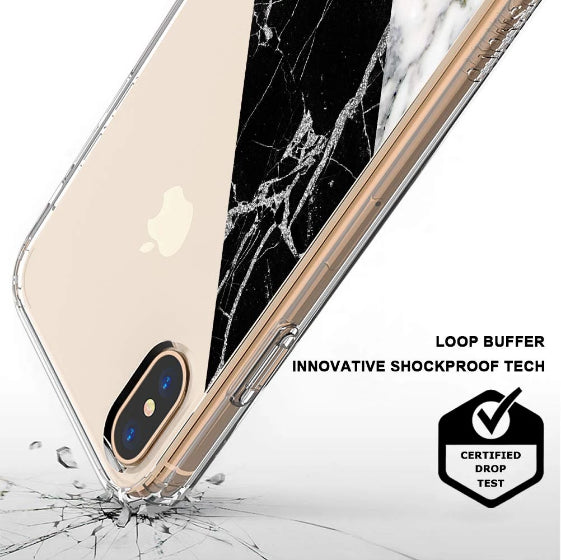 Fashion White Marble Phone Case - iPhone XS Case