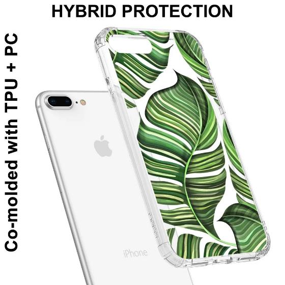 Banana Leaves Phone Case - iPhone 8 Plus Case