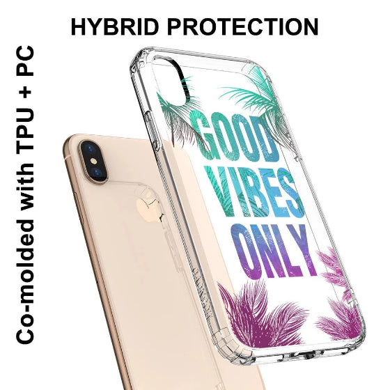 Good Vibes Only Phone Case - iPhone XS Case