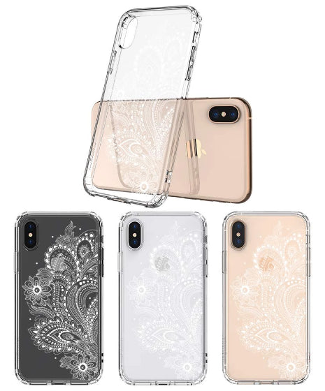 Paisley Floral Phone Case - iPhone X Case