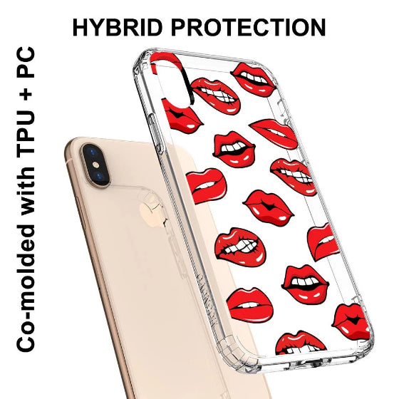 Lips Phone Case - iPhone Xs Max Case