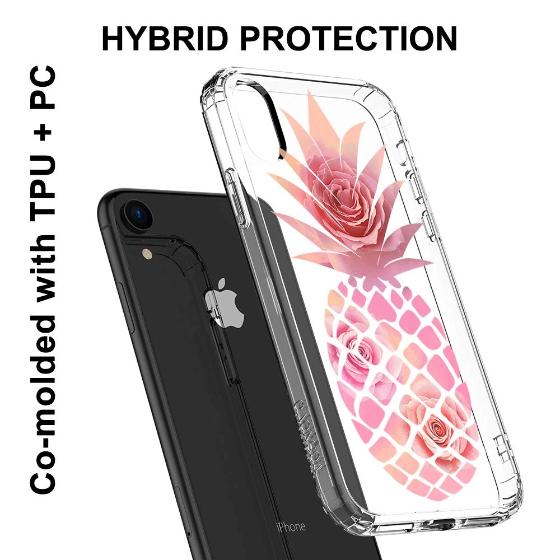 Pineapple Rose Phone Case - iPhone XR Case