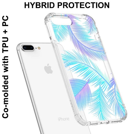 Tropical Palm Leaf Phone Case - iPhone 7 Plus Case