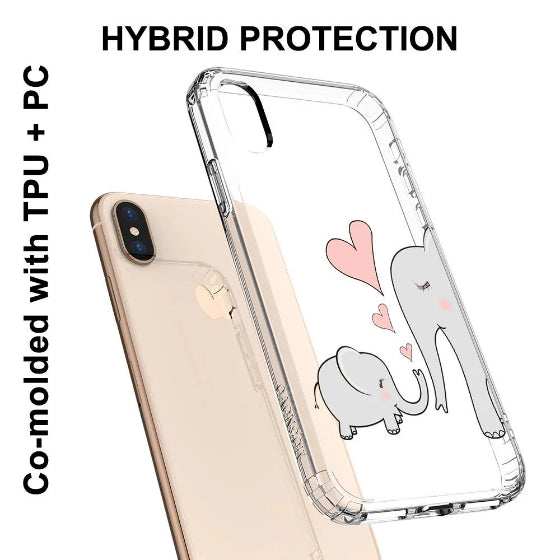 Cute Elephant Phone Case - iPhone X Case