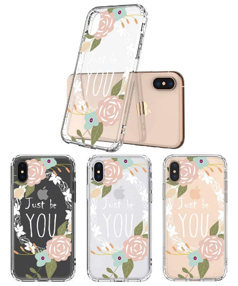 Just Be You Phone Case - iPhone X Case