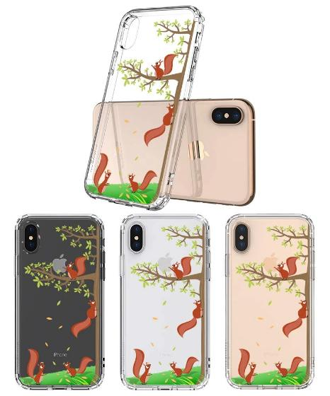 Squirrel Phone Case - iPhone X Case