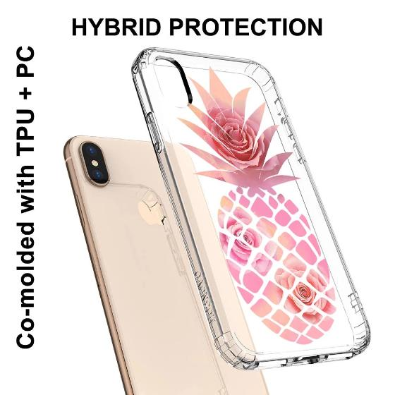 Pineapple Rose Phone Case - iPhone XS Case