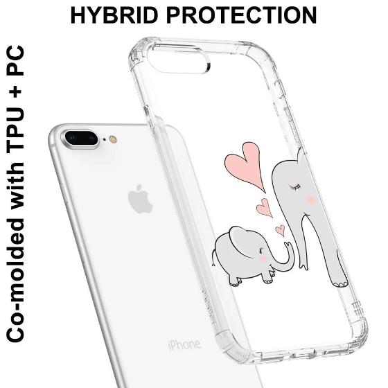 Cute Elephant Phone Case - iPhone 7 Plus Case
