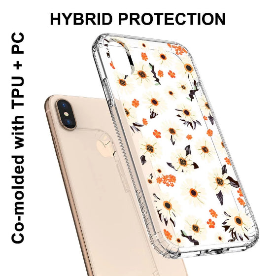 Daisy Floral Phone Case - iPhone X Case