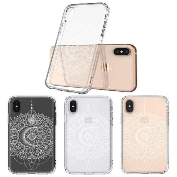 Moon Henna Phone Case - iPhone Xs Max Case
