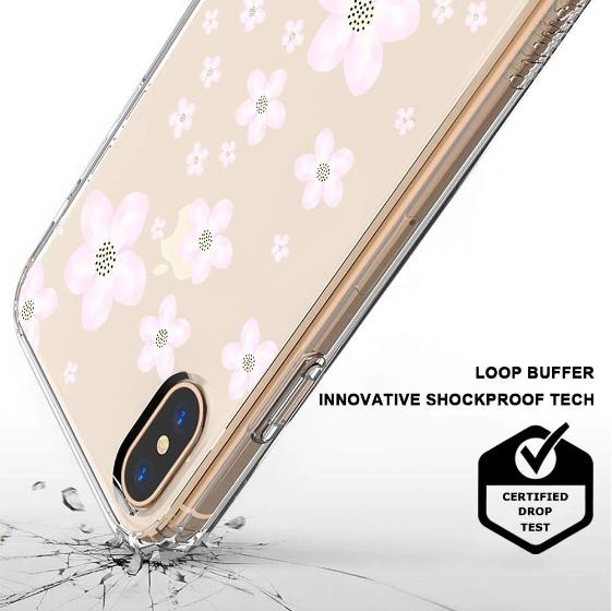 Pink Cherry Blossoms Phone Case - iPhone XS Case