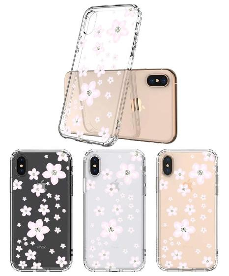 Pink Cherry Blossoms Phone Case - iPhone X Case