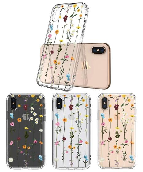 Wild Flowers Floral Phone Case - iPhone XS Case