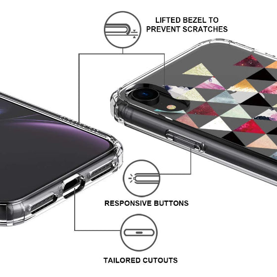 Fashion Marble Elements Phone Case - iPhone XR Case