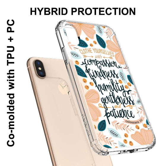 Cloth Yourselves Phone Case - iPhone X Case