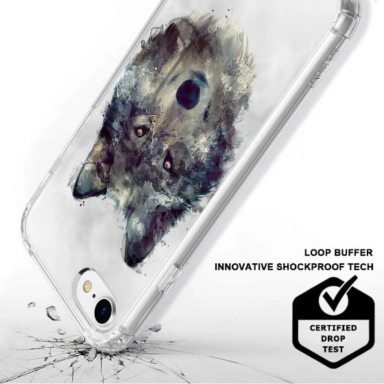 Wolf Phone Case - iPhone 8 Case