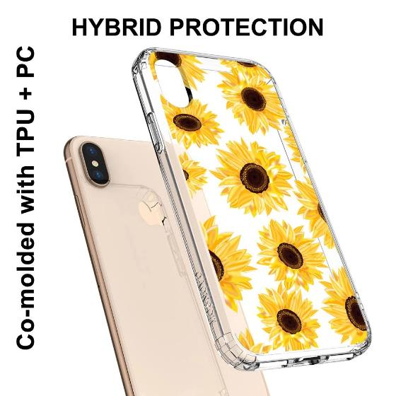 Sunflower Phone Case - iPhone X Case