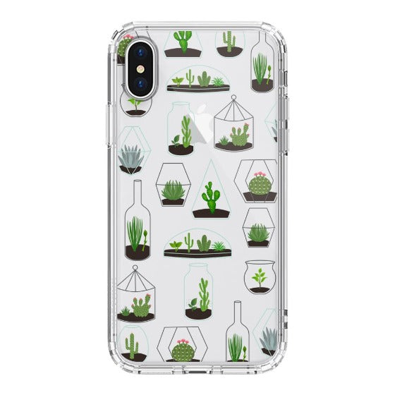 Cactus Plant Phone Case - iPhone X Case