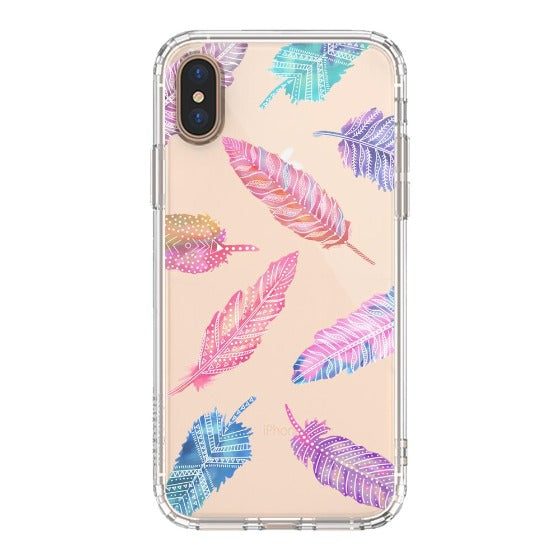 Tribal Feathers Phone Case - iPhone Xs Max Case