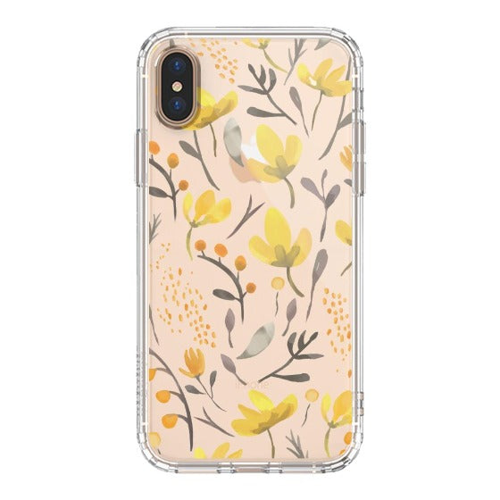 Floral Flower Phone Case - iPhone Xs Max Case