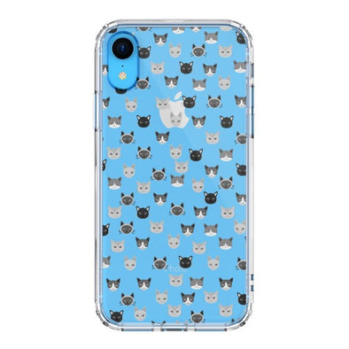 Cats Head Phone Case - iPhone XR Case