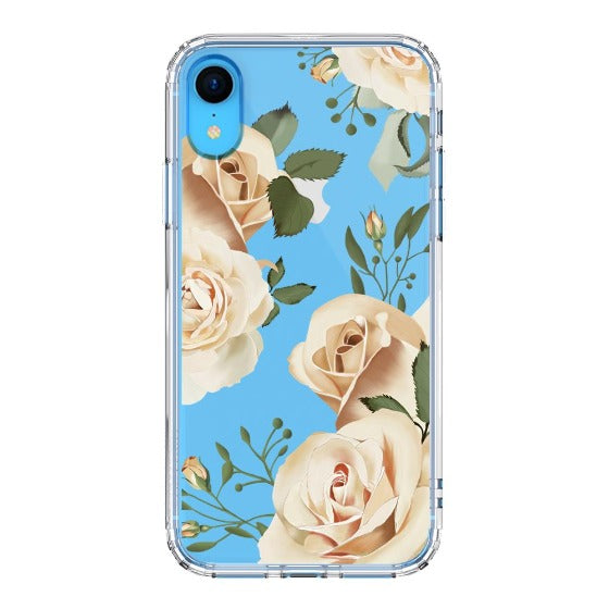 Champagne Roses Phone Case - iPhone XR Case