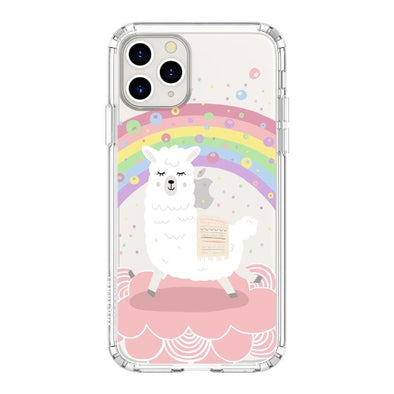 Rainbow Alpaca Phone Case - iPhone 11 Pro Case
