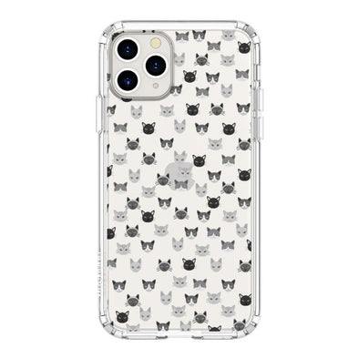 Cats Head Phone Case - iPhone 11 Pro Max Case