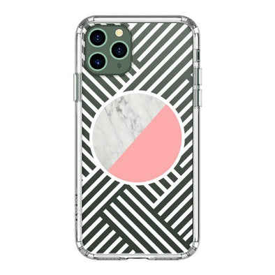 Pink White Marble Phone Case - iPhone 11 Pro Max Case