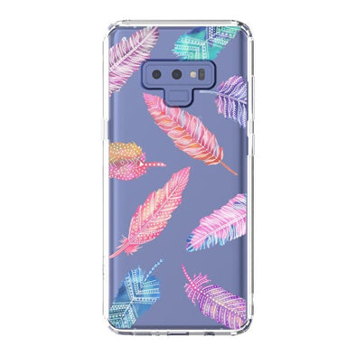 Tribal Feathers Phone Case - Samsung Galaxy Note 9 Case