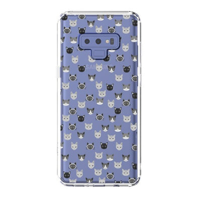 Cats Head Phone Case - Samsung Galaxy Note 9 Case
