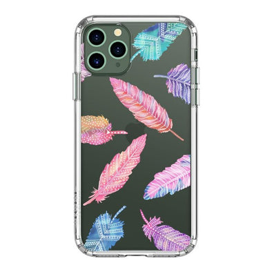 Tribal Feathers Phone Case - iPhone 11 Pro Case