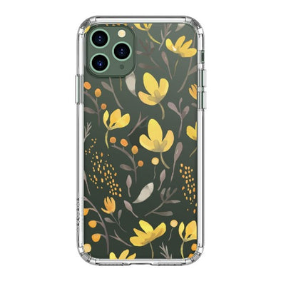 Floral Flower Phone Case - iPhone 11 Pro Max Case