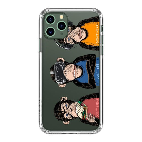Don't Speak, Don't See,Don't Hear Phone Case - iPhone 11 Pro Max Case