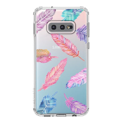 Tribal Feathers Phone Case - Samsung Galaxy S10e Case
