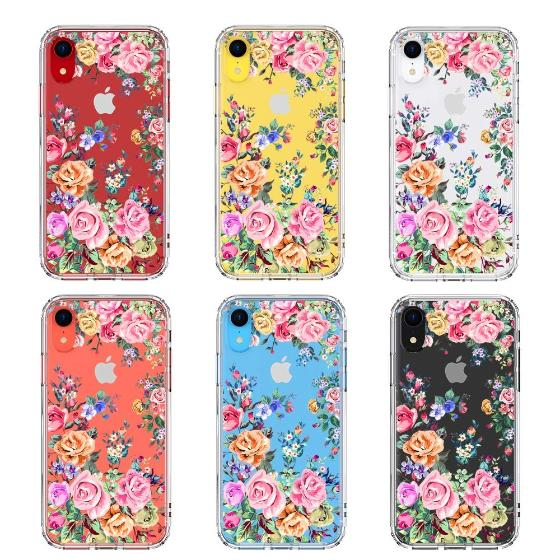 Rose Garden Phone Case - iPhone XR Case