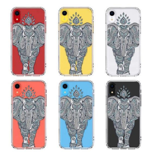 Tribal Elephant Phone Case - iPhone XR Case