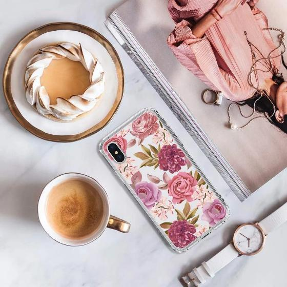 Blossom Flower Floral Phone Case - iPhone X Case