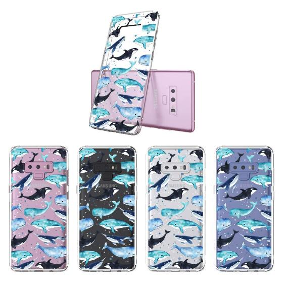 Whale Phone Case - Samsung Galaxy Note 9 Case