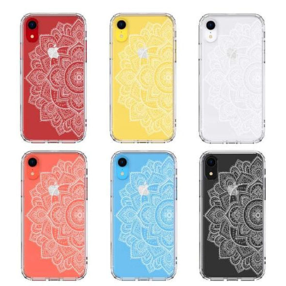 Half Mandala Phone Case - iPhone XR Case