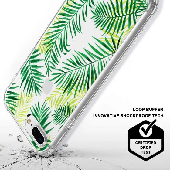 Palm Leaves Phone Case - iPhone 7 Plus Case