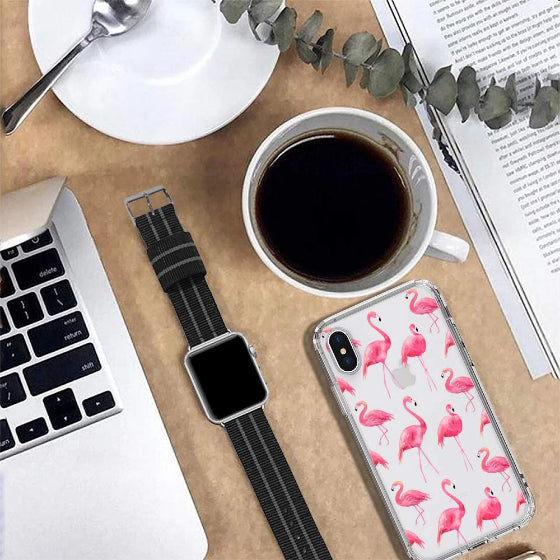 Flamingo Phone Case - iPhone X Case