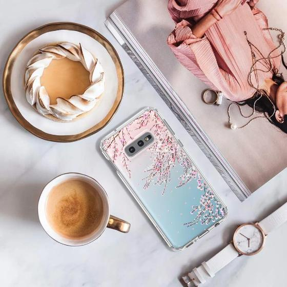 Cherry Blossoms Phone Case - Samsung Galaxy S10e Case