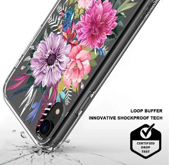 Blossom Floral Flower Phone Case - iPhone XR Case