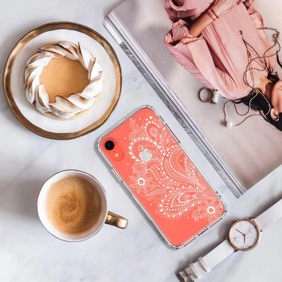 Paisley Floral Phone Case - iPhone XR Case
