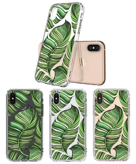 Banana Leaves Phone Case - iPhone X Case