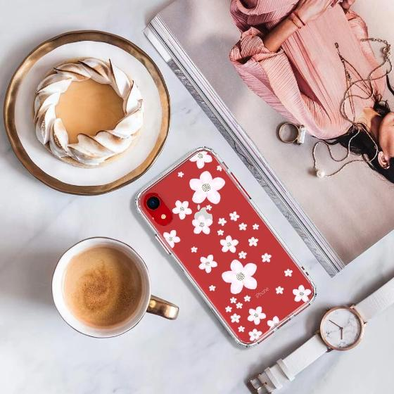 Pink Cherry Blossoms Phone Case - iPhone XR Case