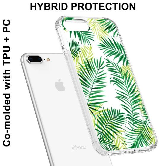 Palm Leaves Phone Case - iPhone 8 Plus Case